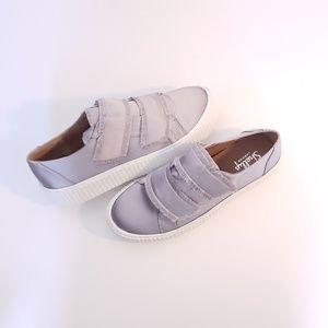 Shellys London– Elder Fringed Platform Sneaker